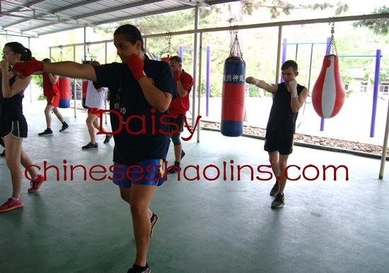 Learn Chinese Kickboxing in China